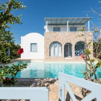 Monolithos Pool Villa by the Beach