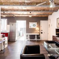 Designed flat close to FC Barcelona stadium
