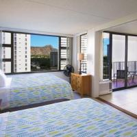 Beautiful 10th Floor with Diamond Head Views | 1 Block to Beach | Free Parking & WIFI