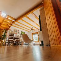 Drewniany dom nad jeziorem Morzycko