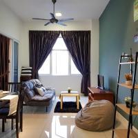 1-5 pax 5mins IOI Mall LRT Cozy Apartment Puchong