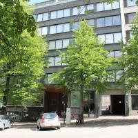 Spacious two-bedroom apartment for four with sauna in downtown Lahti. (ID 2906)