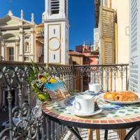 LE ROSSETTI B. - modern, long balcony, old town Nice