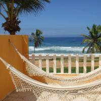 Duplex na beira da praia, de frente pro mar