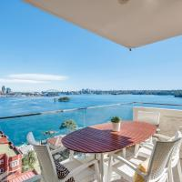 Panoramic harbour views and unbeatable comfort