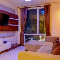 Modern 2 BR Apartment @ FX Residence with City View By Travelio