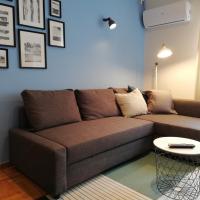 Acropolis cozy blue flat