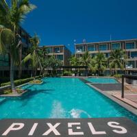 Studio Ocean front partial seaview/pool view