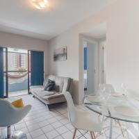 PIP201 Agradável flat em Boa Viagem, até 4 pessoas