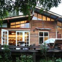 Boutique Vintage Forest Cabin