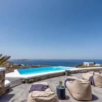 Blue Serenity Villa, hotel in Fanari