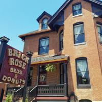 Brick Rose Beds & Donuts