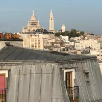 Charme à Paris avec vue sur Montmartre