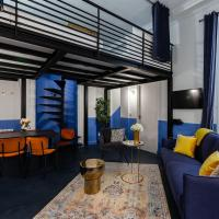 Luxury 2 bedroom Apartment with AC near Louvre