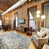 Rare Find 1820 Luxury 203 lofts Steps to Broadway-Sleeps 4