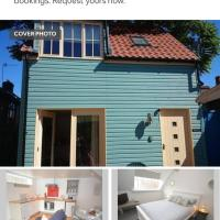 Beach hut seaside cottage