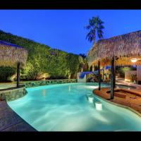 'Vista Escondido' 6BR/5.5BA, Palapa, Waterslide, Walk to Coachella, Sleeps 14