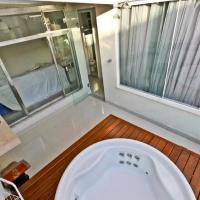 Cobertura 3 suites jacuzzi 50m da praia