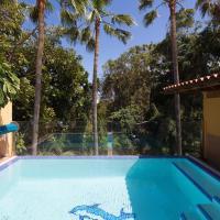 Maravillosa villa con piscina al lado de la playa