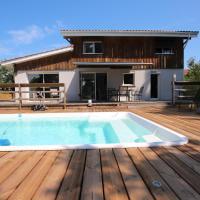 Belle maison avec piscine -4 CH- au lac de Cazaux