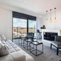 Design Apartment with Perfect Flea Market View