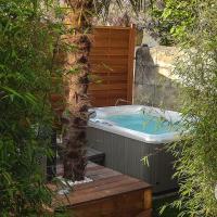Maison de ville à Bordeaux avec jardin et jacuzzi