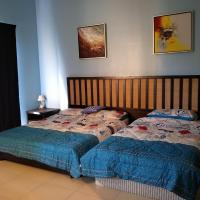 摩立海邊的蔚藍小屋@Gold Coast Morib International Resort