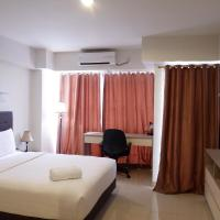 Best Price Studio Apartment The H Residence near MT Haryono By Travelio, hotel near Halim Perdanakusuma Airport - HLP, Jakarta