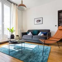 Architect Flat with Terrasse Opéra/St-Lazare