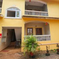 Elegant 1BR Stay Near Candolim Beach Lane, Goa