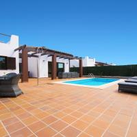 5 star luxury villa, private heated pool, golf & sea views.