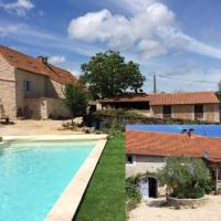 Spacious Holiday Home with Swimming Pool in Varaire