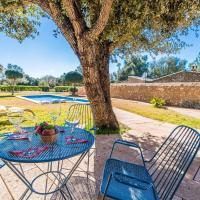 Costitx Villa Sleeps 6 Pool Air Con WiFi