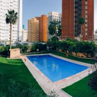 Apt in the heart of Benidorm