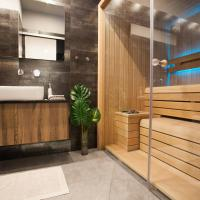 Stylish loft with finnish SAUNA