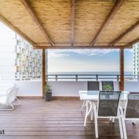 ★ SeaPenthouse/TLV-Beach/80M²Roof/PrivateParking ★