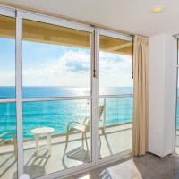 Stunning! 2 BDRM Beach/Oceanfront Condo on Cancun Beach - Hotel Zone