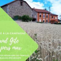 Grand Gite Maison d Alice Auvergne - 15 personnes