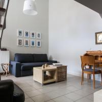 Luxury loft studio apartment