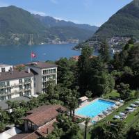 Continental Parkhotel, hotel in Lugano