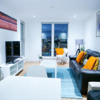 Bright 2 Bedroom Apartment close to Media city Salford quay