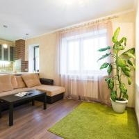 Luxury apartment in red whale