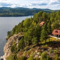 Telemark cabin on a small island