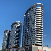 Apartment Tower-free garage parking