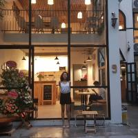 Bright boutique stay