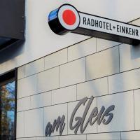 Radhotel am Gleis