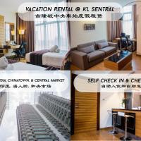 Hotel-style Apartment @ Dua Sentral near KL Sentral    happyholiday