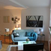 Schönes Appartement mit Gartenblick
