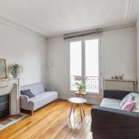 Typical Parisian apartment, quarter of Montmartre