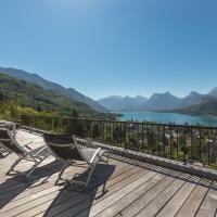 La Ruche : Appartement duplex vue lac et montagnes